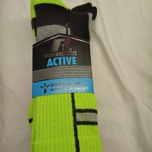 3 Pack Athletic Performance Active Socks